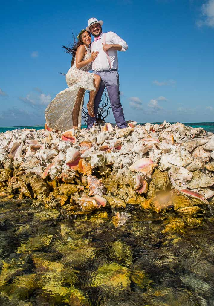 Trash the dress‎ en los roques venezuela